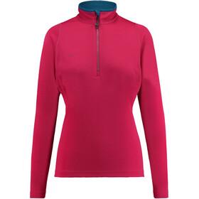 Kaikkialla W's Eveliina Zipp Shirt 1/1 Fuchsia